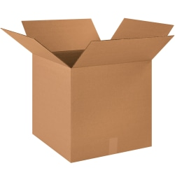 """Office Depot® Brand Corrugated Boxes, 18"""" x 18"""" x 18"""", Pack Of 25"""