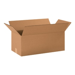 "Office Depot® Brand Corrugated Cartons, 20"" x 10"" x 8"", Kraft, Pack Of 20"