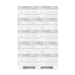 """Boise® ASPEN® Multi-Use 3-Hole Punched Copy Paper, Letter Size (8 1/2"""" x 11""""), FSC® Certified, 92 (U.S.) Brightness, 20 Lb, 50% Recycled, Ream Of 500 Sheets, Case Of 10 Reams, Pallet Of 40 Cases"""