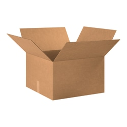 "Office Depot® Brand Corrugated Cartons, 20"" x 20"" x 12"", Kraft, Pack Of 15"