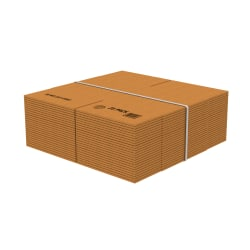 "Office Depot® Brand Corrugated Boxes, 20""L x 20""W x 20""H, Kraft, Pack Of 10"