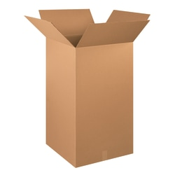 """Office Depot® Brand Tall Boxes, 20"""" x 20"""" x 36"""", Kraft, Pack Of 10"""