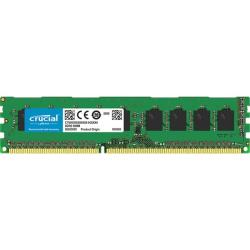 Crucial 4GB (1 x 4 GB) DDR3 SDRAM Memory Module - For Desktop PC - 4 GB (1 x 4 GB) - DDR3-1600/PC3-12800 DDR3 SDRAM - CL11 - 1.35 V - Non-ECC - Unbuffered - 240-pin - DIMM