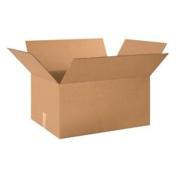 "Office Depot® Brand Corrugated Cartons, 24"" x 18"" x 12"", Kraft, Pack Of 10"