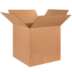 """Office Depot® Brand Corrugated Boxes, 25""""L x 25""""W x 25""""H, Kraft, Pack Of 10"""