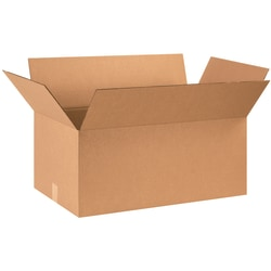 "Office Depot® Brand Corrugated Cartons, 28"" x 16"" x 12"", Kraft, Pack Of 10"