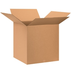 """Office Depot® Brand Corrugated Boxes, 28""""L x 28""""W x 28""""H, Kraft, Pack Of 5"""