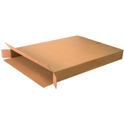 """Office Depot® Brand Side Loading Corrugated Cartons, 36"""" x 5"""" x 48"""", Kraft, Pack Of 5"""