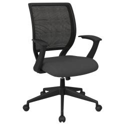 Office Star™ Work Smart Mesh Task Chair, Gray/Black