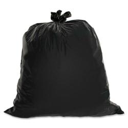 """Genuine Joe 1.5 mil Trash Bags, 60 gal, 39""""H x 56""""W, Brown, 50 Bags"""