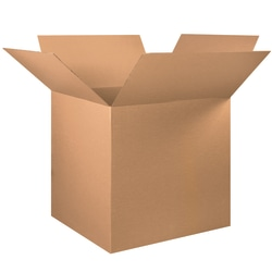 """Office Depot® Brand Corrugated Boxes, 36""""L x 36""""W x 36""""H, Kraft, Pack Of 5"""