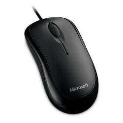 Microsoft® Basic Optical Mouse, Black