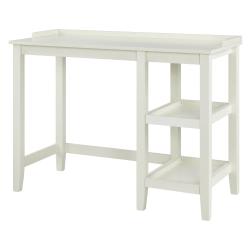 Ameriwood™ Home Eleanor Single Pedestal Desk, White