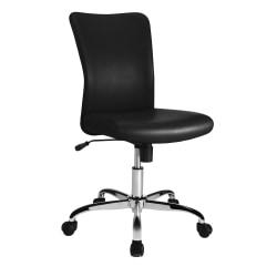 Brenton Studio® Birklee Task Chair, Black/Chrome