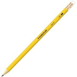 STAEDTLER® Presharpened Pencils, Presharpened, #2HB, Yellow Barrel, Pack of 12