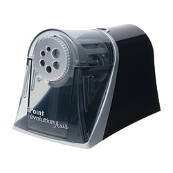 Acme United iPoint Evolution Axis 6-Hole Electric Pencil Sharpener, Silver