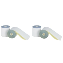 "Office Depot® 2-Ply Paper Rolls, 3"" x 96', White, Carton Of 50"