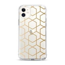 OTM Essentials Tough Edge Case For iPhone® 11, Geometric Gold, OP-ACP-Z120A