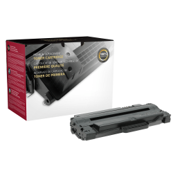 Clover Technologies Group™ MLT105 Remanufactured Black Toner Cartridge Replacement For Samsung MLT-D105S