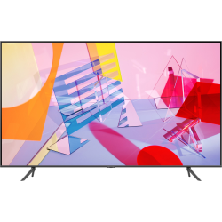 "Samsung QN43Q60TAF - 43"" Diagonal Class (42.5"" viewable) - Q60T Series QLED TV - Smart TV - Tizen OS - 4K UHD (2160p) 3840 x 2160 - HDR - Quantum Dot, Dual LED - titan gray"