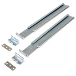 Rack Solutions 1UKIT-R4 Mounting Rail Kit - 1
