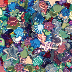 Creativity Street Fun Gemstones & Buttons, Assorted Sizes, Assorted Colors