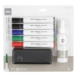 Office Depot® Brand Dry-Erase Marker Set, Assorted Colors