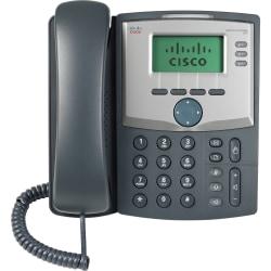 Cisco SPA 303 IP Phone - Wall Mountable - 3 x Total Line - VoIP - Caller ID - 2 x Network (RJ-45) - Monochrome