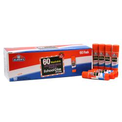 Elmer's® School Glue Sticks, 0.25 Oz, Purple, Box Of 60