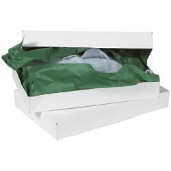 "Partners Brand White Apparel Boxes 19"" x 12"" x 3"", Case of 50"