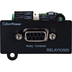 CyberPower RELAYIO500 Network Management Card - Black 3YR Warranty - Hardware & Accessories