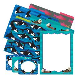 Barker Creek Get Organized Kit, Letter Size, Sea & Sky Otters