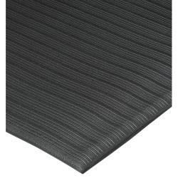 Genuine Joe Air Step Anti-Fatigue Mat, 2' x 3', Black