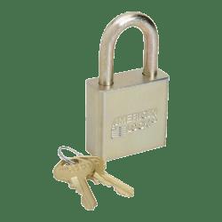 "SKILCRAFT® Solid Steel Case Padlock, 1 1/8"" x 1 3/4"" (AbilityOne 5340-01-588-1036)"