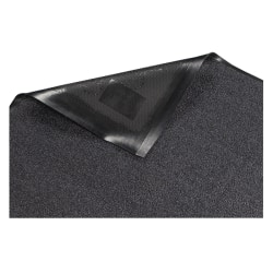 Genuine Joe Platinum Series Walk-Off Indoor Mat, 3' x 5', Gray