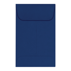 "LUX Coin Envelopes, #1, 2 1/4"" x 3 1/2"", Navy, Pack Of 500"