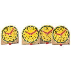 """Judy® Clocks Original Minis, 8 3/4"""" x 4 1/2"""", Set Of 12"""
