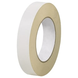 """Partners Brand Industrial Double Coated Crepe Tape, 1"""" x 36 Yd., Off White, Case Of 3"""