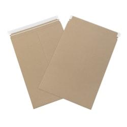 "Office Depot® Brand Self-Seal Kraft Flat Mailers, 13"" x 18"", Box Of 100"