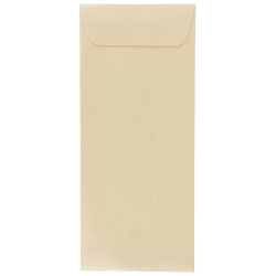 "JAM Paper® #10 Policy Envelopes, 4-1/8"" x 9-1/2"", Opal Stardream, Pack Of 50 Envelopes"