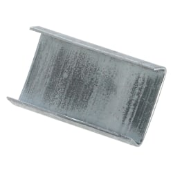 """Open/Snap On Regular Duty Steel Strapping Seals, 5/8"""" x 1"""", Case Of 5,000"""