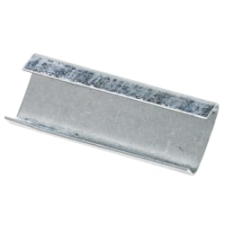 """Heavy-Duty Open/Snap On Steel Strapping Seals, 3/4"""" x 2 """", Case Of 1,000"""