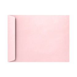 "LUX Open-End Envelopes With Peel & Press Closure, #9 1/2, 9"" x 12"", Candy Pink, Pack Of 250"