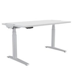 "Fellowes® Levado Height-Adjustable Desk, 48""W, White"