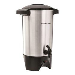 Hamilton Beach 40515 Coffee Urn - 42 Cup(s) - Multi-serve - Silver - Aluminum