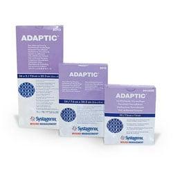 "ADAPTIC® Non-Adhering Dressings, 5"" x 9"", 1 Strip/Envelopes, Pack Of 12"