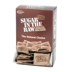 Sugar Foods Sugar In The Raw Sweetener, Box Of 200 Packets