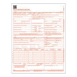 "TOPS™ Laser CMS Claim Forms, 8 1/2"" x 11"", Pack Of 500"