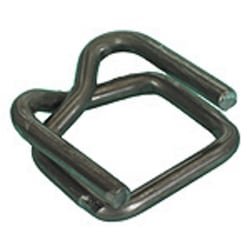 "Heavy Duty Wire Buckles For Poly Strapping,, 1/2"", Case Of 1,000"