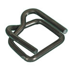 """Wire Poly Strapping Buckles, 1/2"""" Case Of 1,000"""